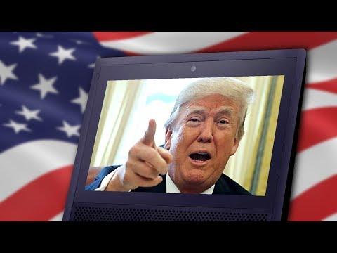 Amazon Echo: Trump Edition