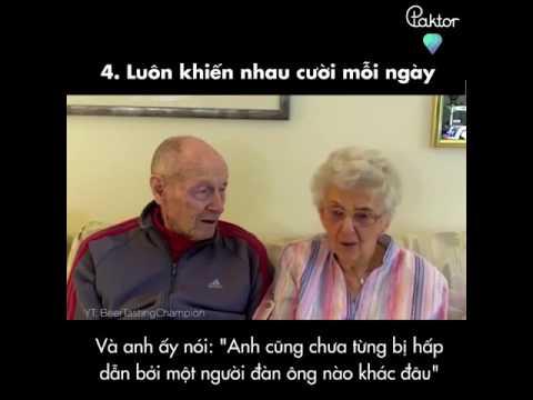 Lời khuyên của cặp vợ chồng cưới nhau hơn 70 năm