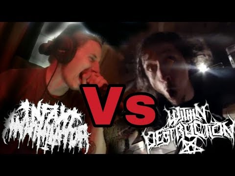 INFANT ANNIHILATOR VS WITHIN DESTRUCTION [THE BATTLE OF THE HEAVIESTS]
