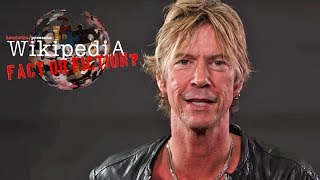 Duff McKagan - Wikipedia: Fact or Fiction?