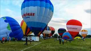 preview picture of video 'Gatineau Balloon Festival / Montgolfieres de Gatineau 2013 HD 1080p - Time Lapse'