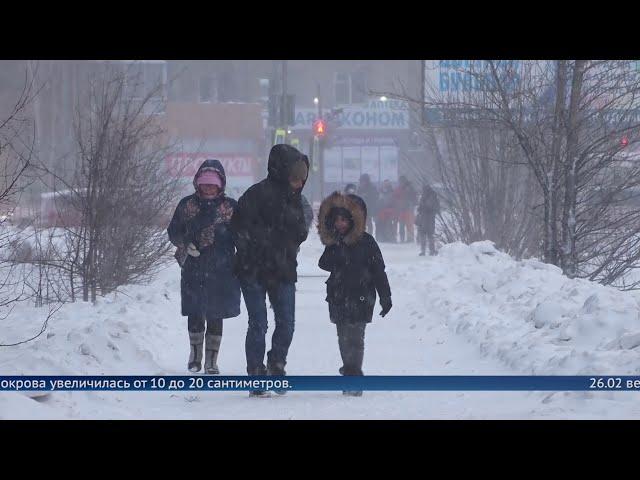 Снегопады в Приангарье побили 45-летний максимум