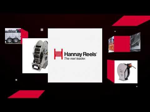 Hannay Reels N700 Series Spring Rewind Reels
