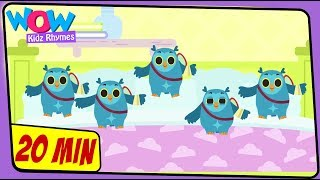 Five Little Owls | English Rhymes For Kids | English Songs | Kintoons