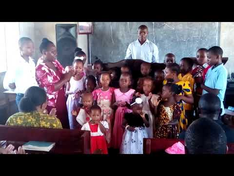 Tanga Church Sunday School Kids Special Song