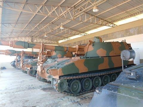El Centro de Instrucción Blindado recibe M109 A5 + BR Plus