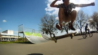 preview picture of video 'Nevers skate GoPro'