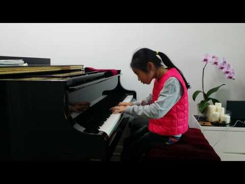 Student's performance- Sonatina in A minor- Jacoby