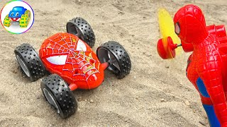 Playing Football Song - Kids Songs - Spider Man Appeared in Time | Kid Studio
