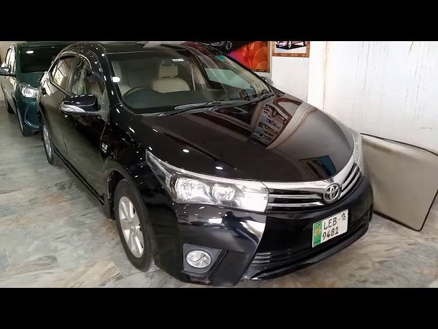 Toyota Corolla Altis Grande CVT-i 1.8 2014 for Sale in Multan