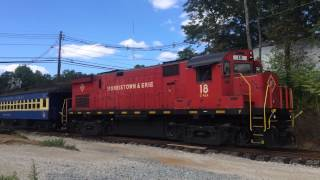 preview picture of video 'Whippany Railway Museum Caboose Excursion'
