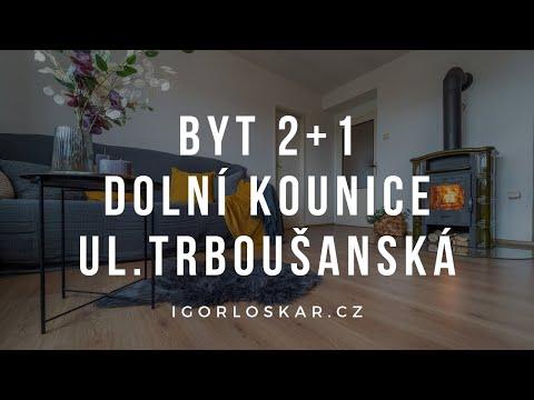 Video z << Prodej bytu 2+1, 70 m2, Dolní Kounice >>