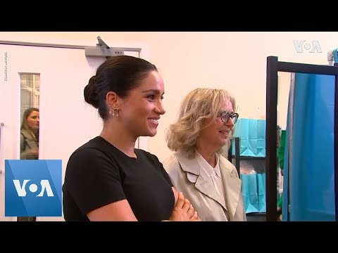 Pregnant Meghan Visits Charity Which Helps Unemployed Women