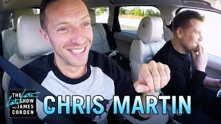 Chris Martin Carpool Karaoke - dooclip.me