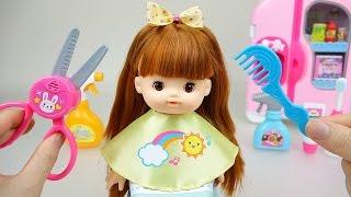 Baby Doll hair cut toys