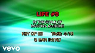 Martina McBride - Life #9 (Karaoke)