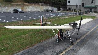 Maiden Flight of the Skyhopper Ultralight (Nov 28, 2015)