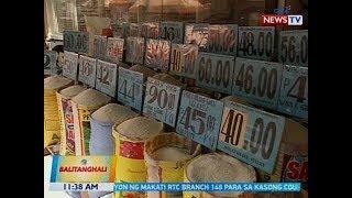 BT: Presyo ng ilang commercial rice, bumaba na