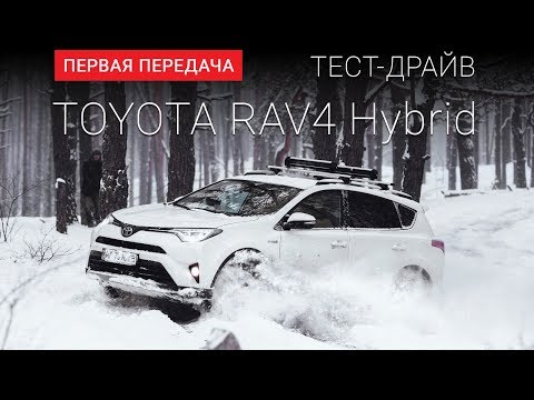 Toyota Rav 4 Hybrid Паркетник класса J - тест-драйв 3
