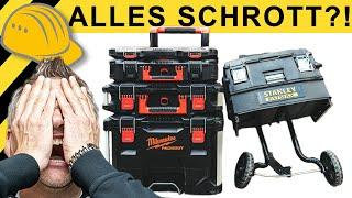 ALLES SCHROTT - WERKZEUG KOFFER CRASH TEST | WERKZEUG NEWS #101