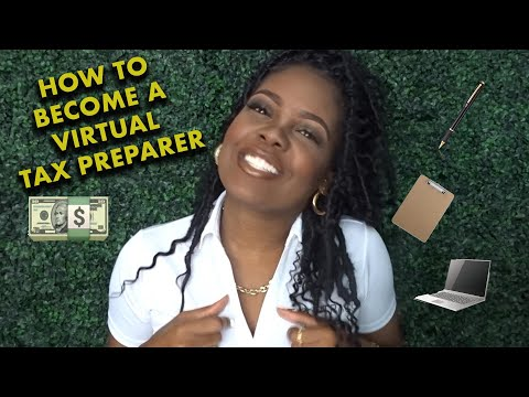 How To Become A Virtual Tax Preparer