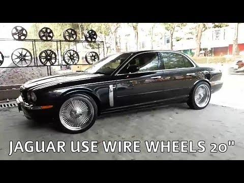"Modifikasi Mobil Jaguar Using Wire Wheels 20"" vip autostyle"