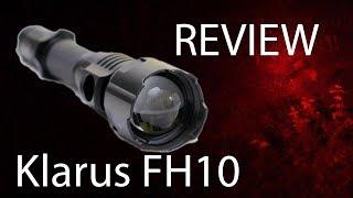 Jagen mit Rotlicht: Review Rotlichtlampe Klarus FH10