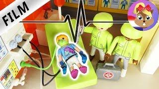 Playmobil filmpjes Nederlands | SPOEDOPERATIE? - HANNAH in het ZIEKENHUIS | Familie Vogel