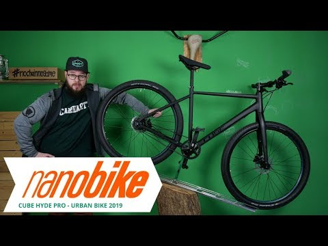 Cube Hyde Pro Urban City Fahrrad 2019 | Review (German)