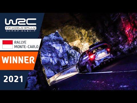 WRC 2021 開幕戦のラリーモンテカルロで優勝したセバスチャン・オジェの第迫力の走行をまとめたハイライト映像