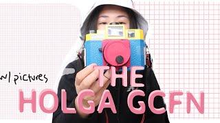 HOLGA GCFN film camera w/ Pictures