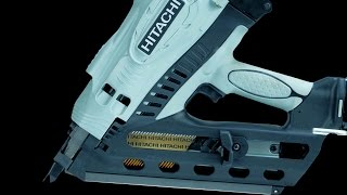 Hitachi 3-1/2-in Cordless Clipped Head Framing Nailer - NR90GC2