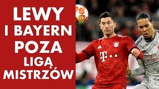 Lewandowski i Bayern poza Ligą Mistrzów! Liverpool w ćwierćfinale!