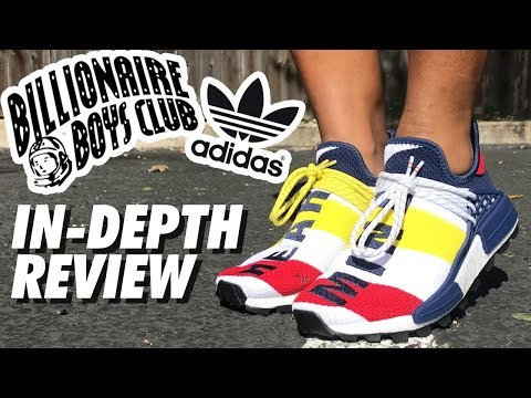 BBC x PHARRELL HUMAN RACES x ADIDAS SHOE REVIEW!