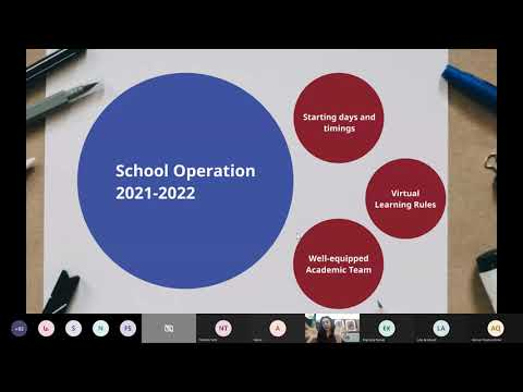 MIS Back to School Virtual Orientation for 2021-2022