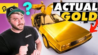 How This 24K GOLD PLATED DeLorean Became an