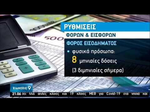 Ευνοϊκές ρυθμίσεις για φόρους & εισφορές ανακοίνωσε ο Κ.Μητσοτάκης | 12/06/2020 | ΕΡΤ