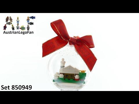 Vidéo LEGO Saisonnier 850949 : Décoration de Noël « La cabane des neiges »