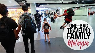 One Bag Traveling Family | Thailand to Malaysia