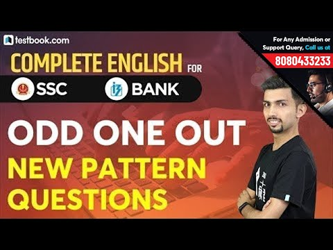 Best Trick to Find Odd One Out in a Sentence   Complete English for SSC & Bank PO by Aditya Sir