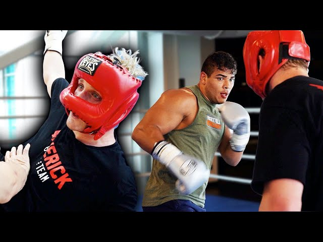 """""""Logan is a beast"""" – UFC middleweight Paulo Costa recalls sparring session with Logan Paul"""