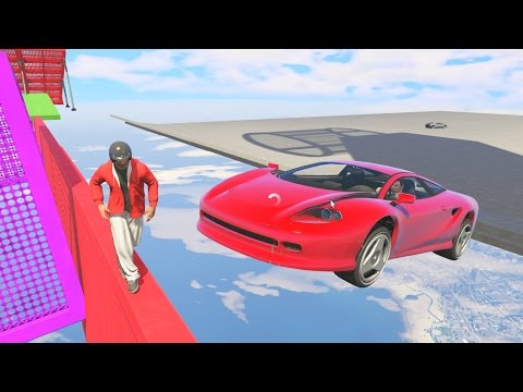 DODGE THE CARS! - GTA 5 Funny Moments #646