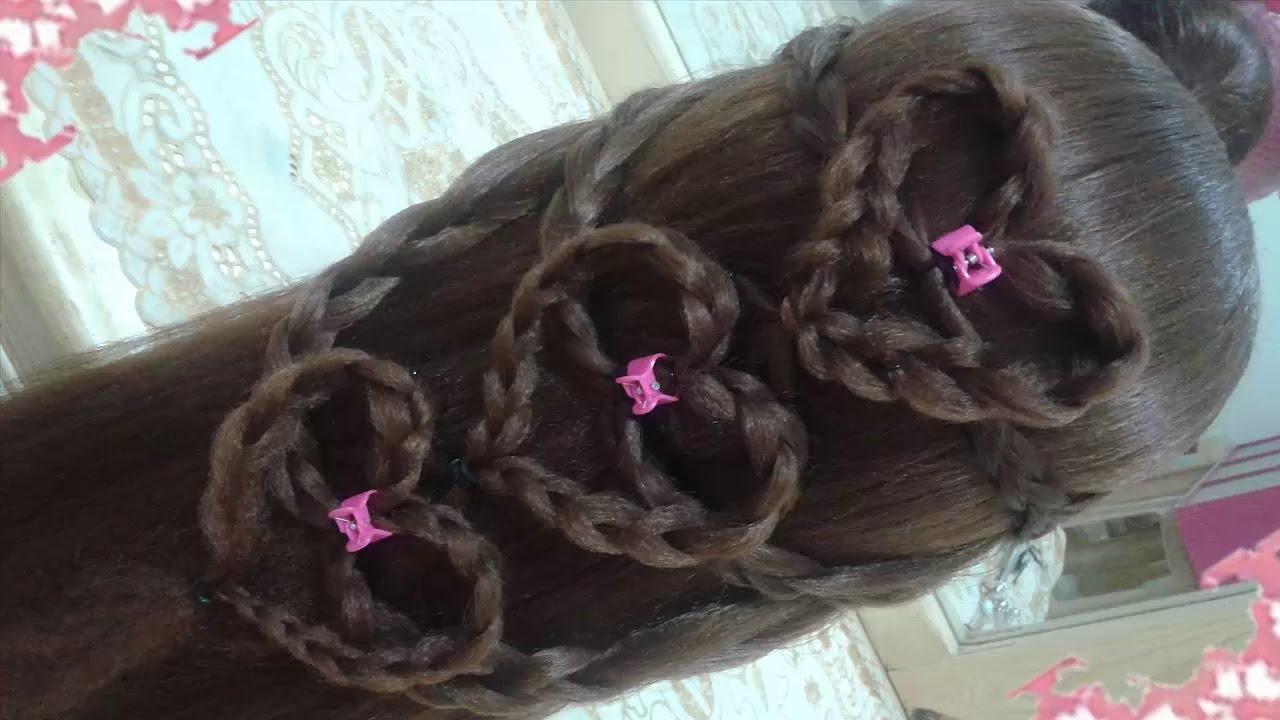 Peinados De Trenzas Para Nia Faciles Excellent Peinados Recogidos