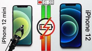 Apple iPhone 12 mini vs Apple iPhone 12 Battery Test