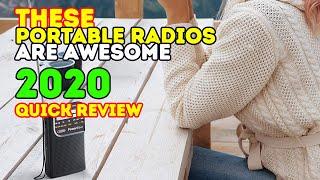 Best Portable Radios 2019 - best FM/AM Radios
