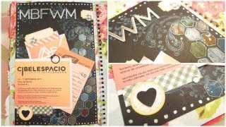 Smash Book Terapia: 16.09.13 *Cómo hacer un diario de Scrap* Smash book tutorial