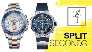 Split Seconds: This Or That - The Ulysse Nardin Marine Regatta Vs. The Rolex Yachtmaster II