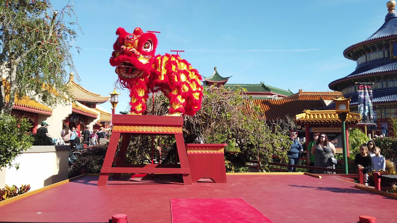 Chinese Lion Dancers 2018