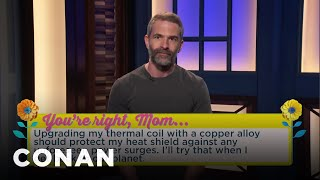 What Every Mom Wants For Mother's Day  - CONAN on TBS - Video Youtube