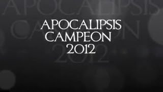 preview picture of video 'APOCALIPSIS Campeón Antiguo Cuscatlán 2012'